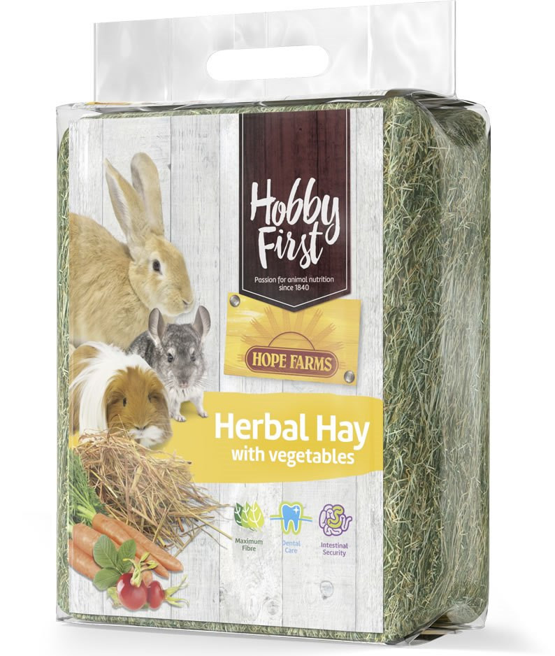 HobbyFirst Hope Farms Herbal Hay with Vegetables 1 kg