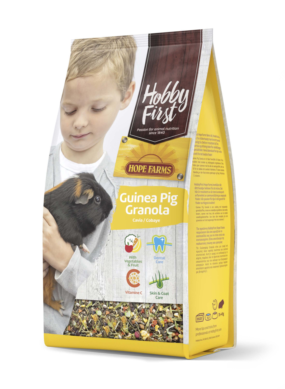 HobbyFirst Hope Farms Guinea Pig Granola 2 kg