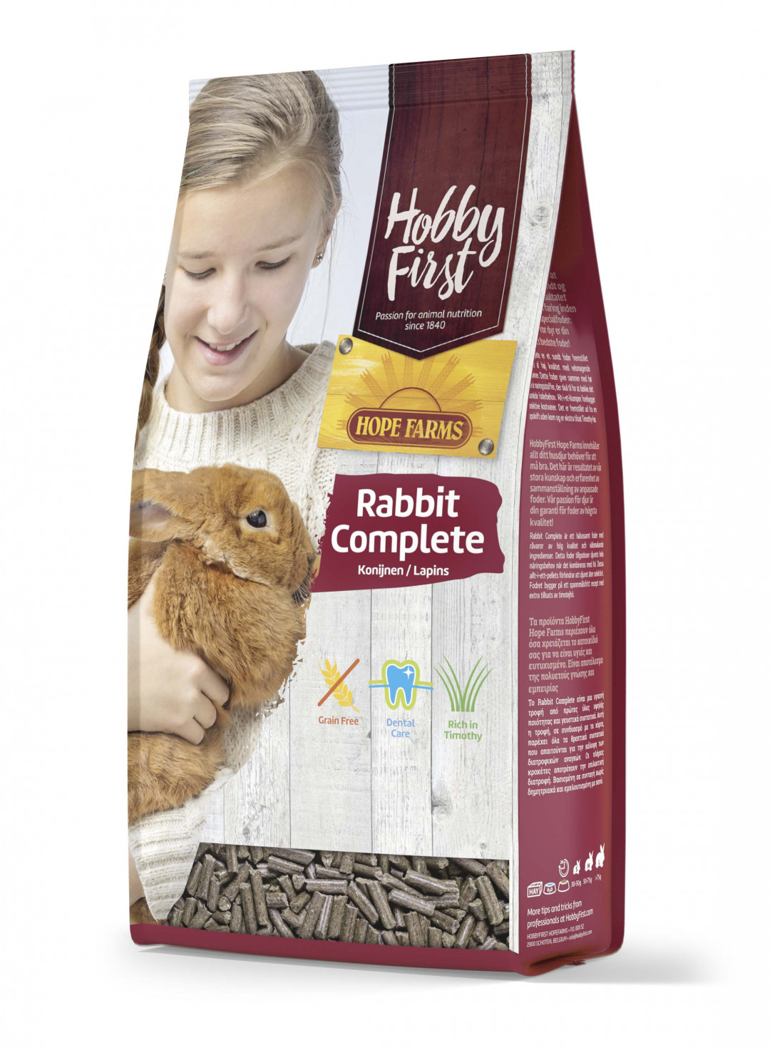 HobbyFirst Hope Farms Rabbit Complete 1,5 kg