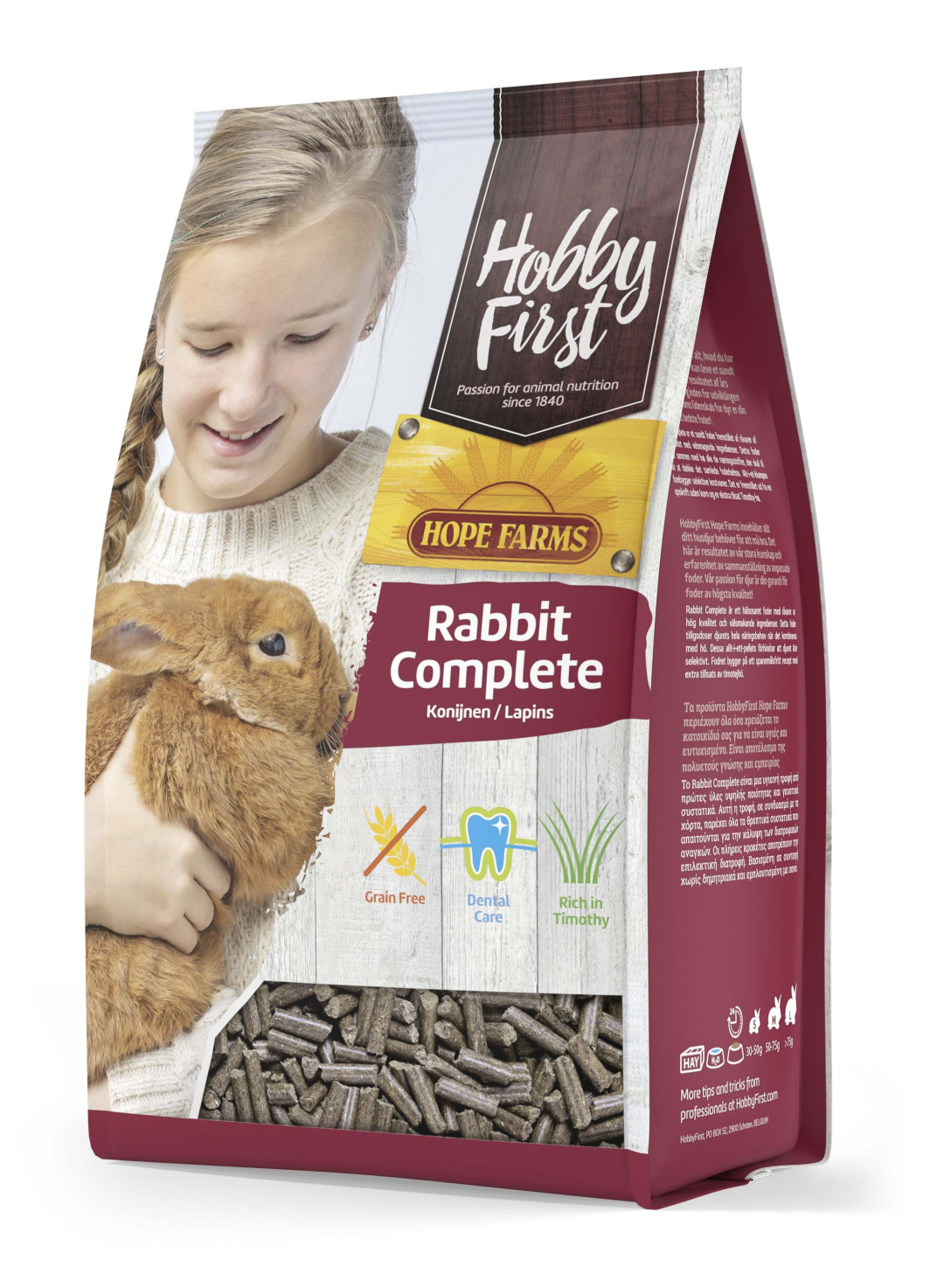 HobbyFirst Hope Farms Rabbit Complete 3 kg