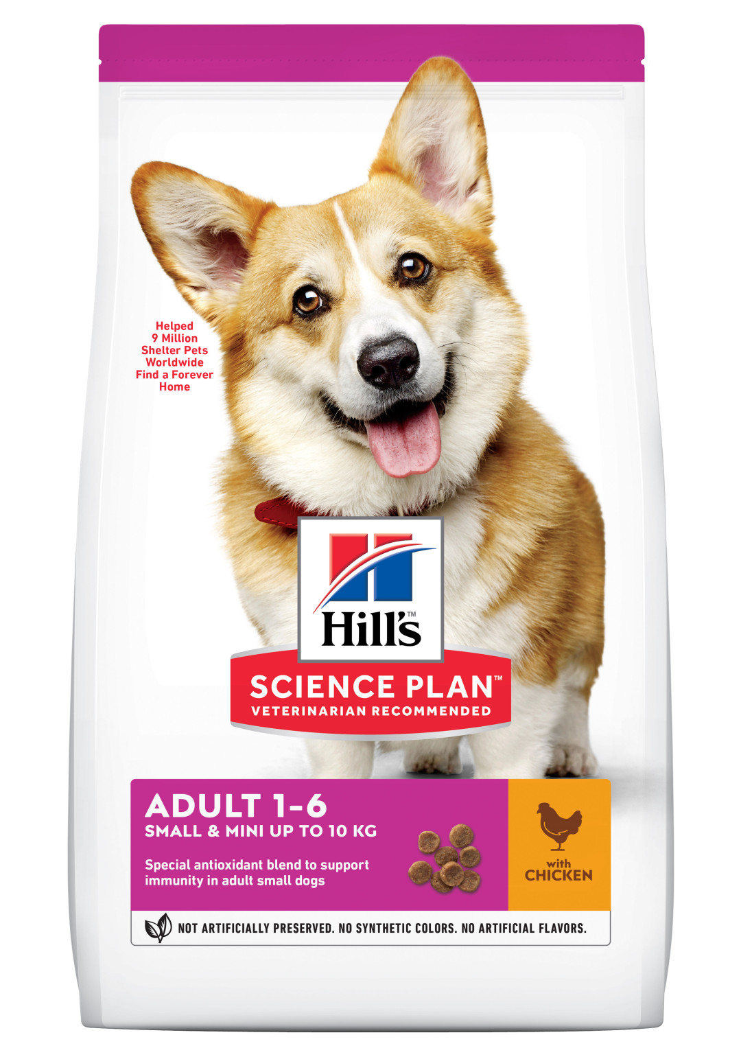 Hill's Science Plan Adult Small & Mini kip 1,5 kg