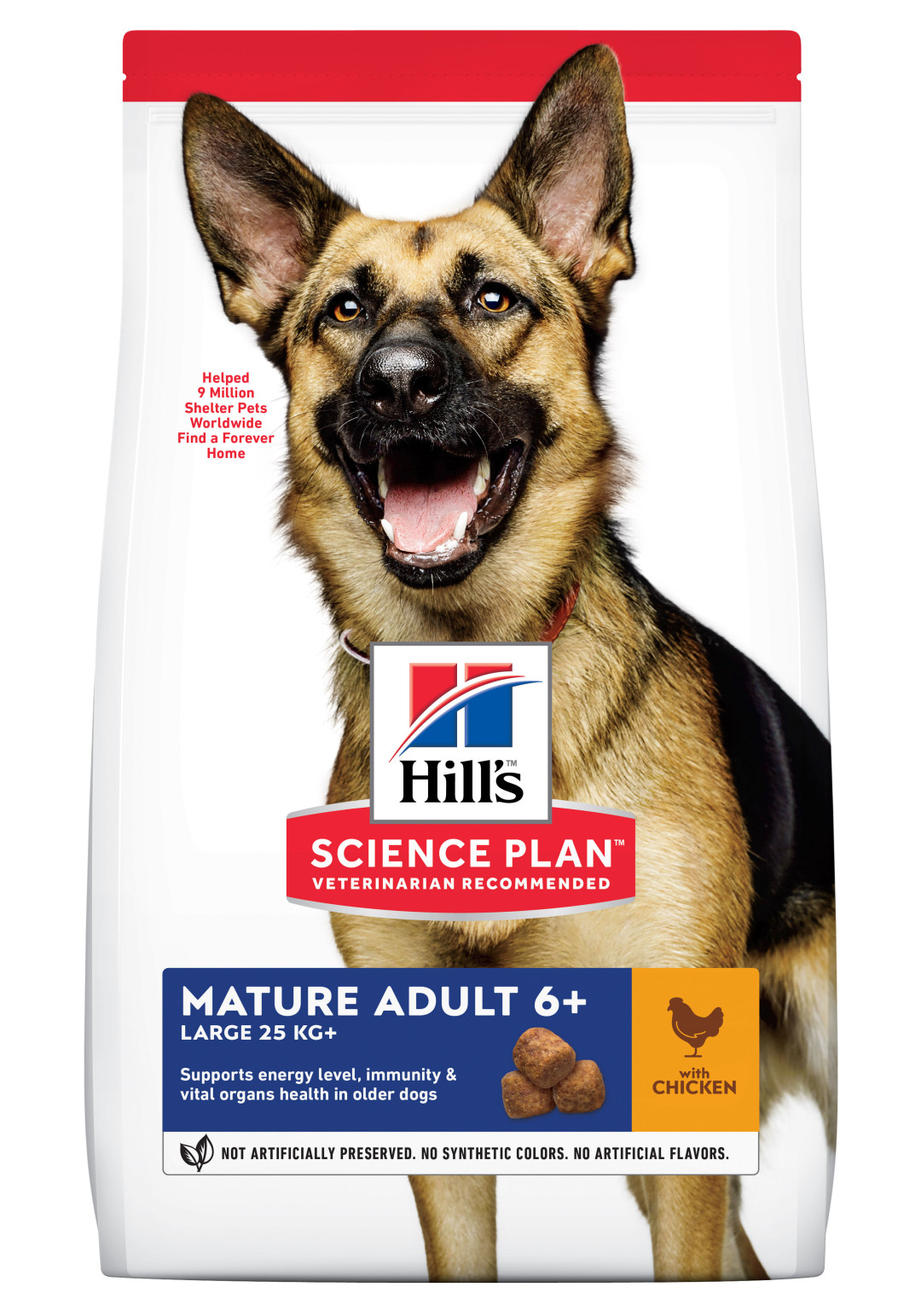 Hill's Science Plan Mature Adult Large Breed kip 12 kg