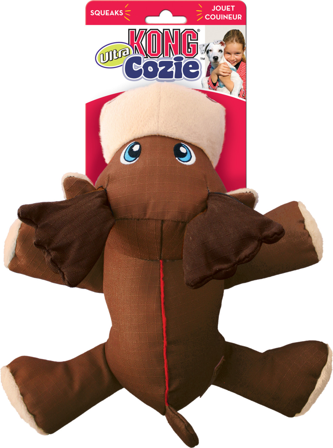 Kong Cozie Ultra Max Moose medium