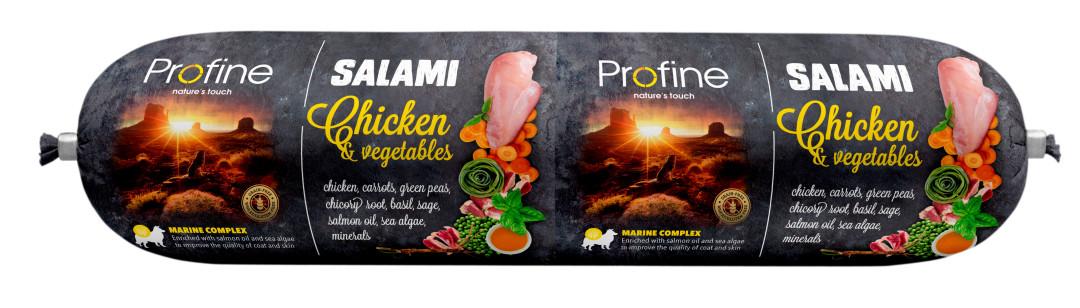 Profine SALAMI kip met groenten 800 gr