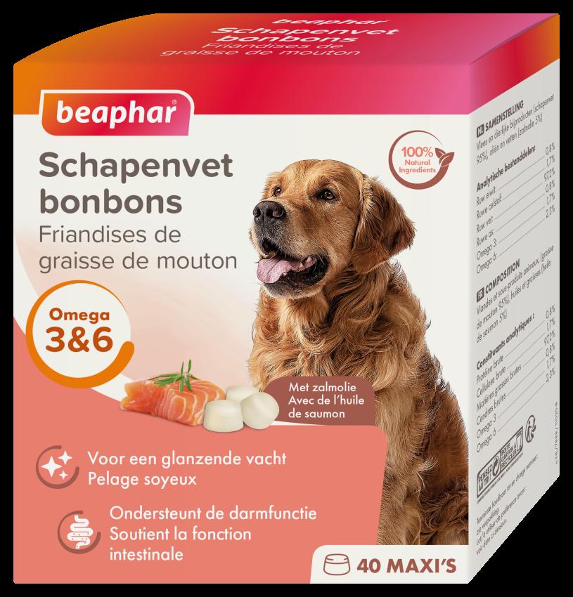 Beaphar Schapenvet Bonbons Zalm 245g