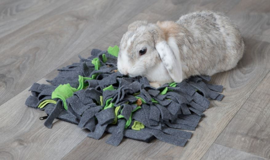TRIXIE snuffelmat grijs/groen