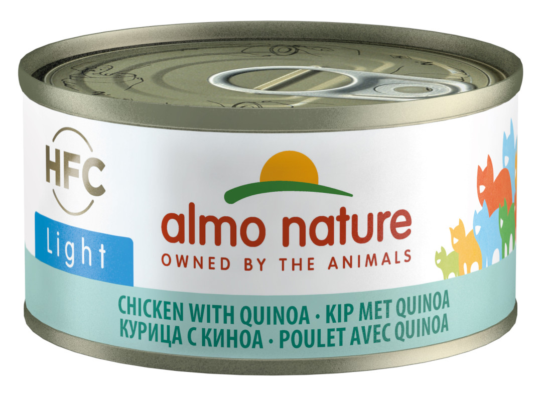 Almo Nature kattenvoer HFC Light kip en quinoa 70 gr