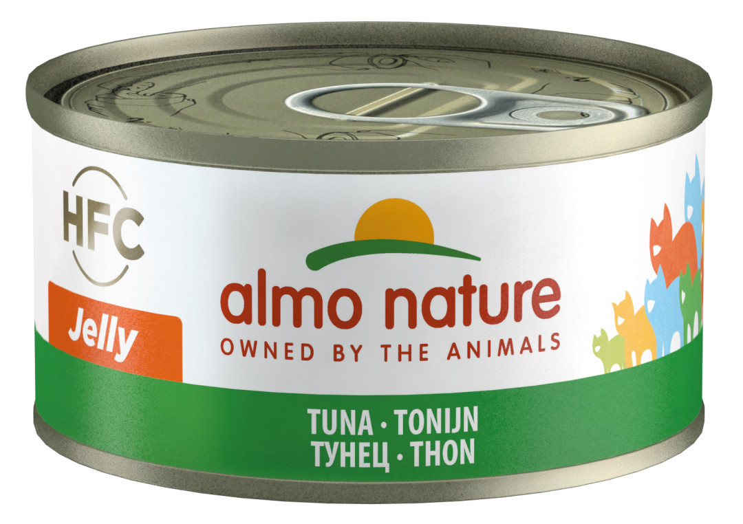 Almo Nature kattenvoer HFC Jelly tonijn 70 gr