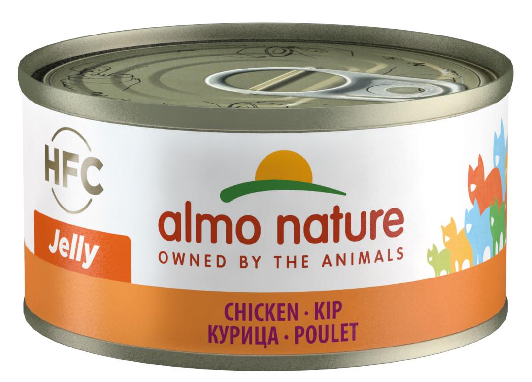 Almo Nature kattenvoer HFC Jelly kip 70 gr
