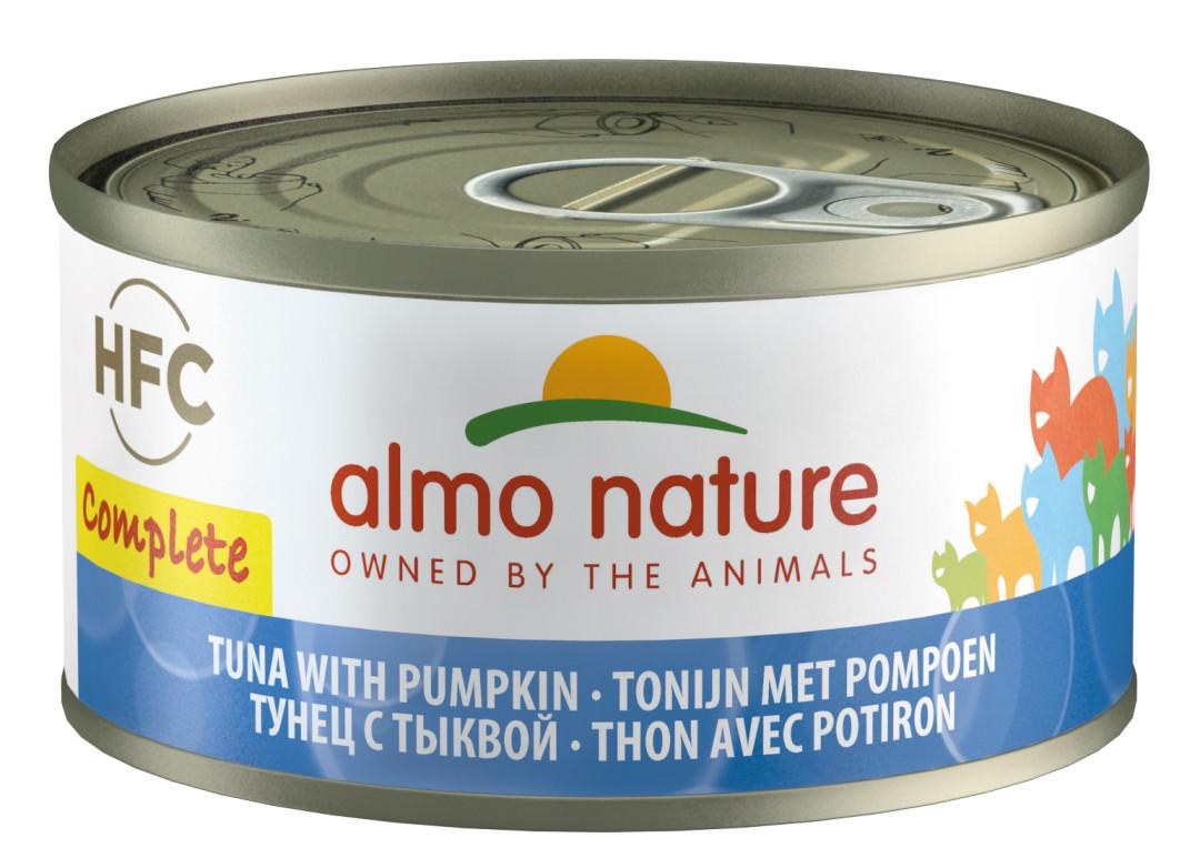 Almo Nature HFC Complete tonijn en pompoen 70 gr