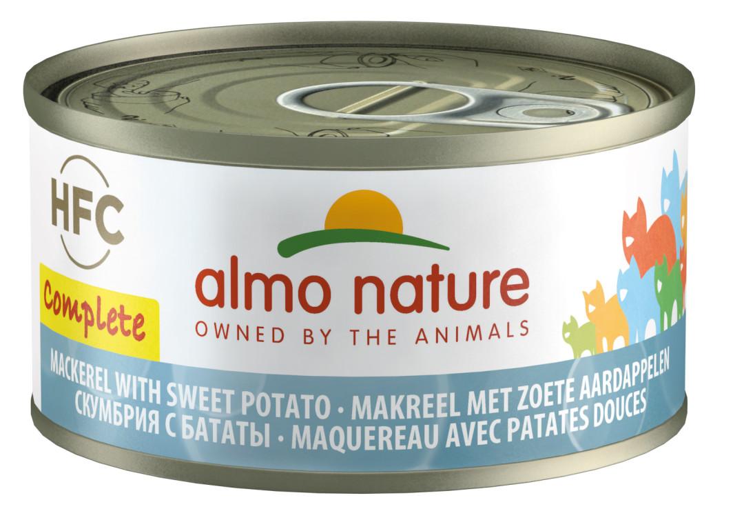 Almo Nature HFC Complete makreel en aardappel 70 gr