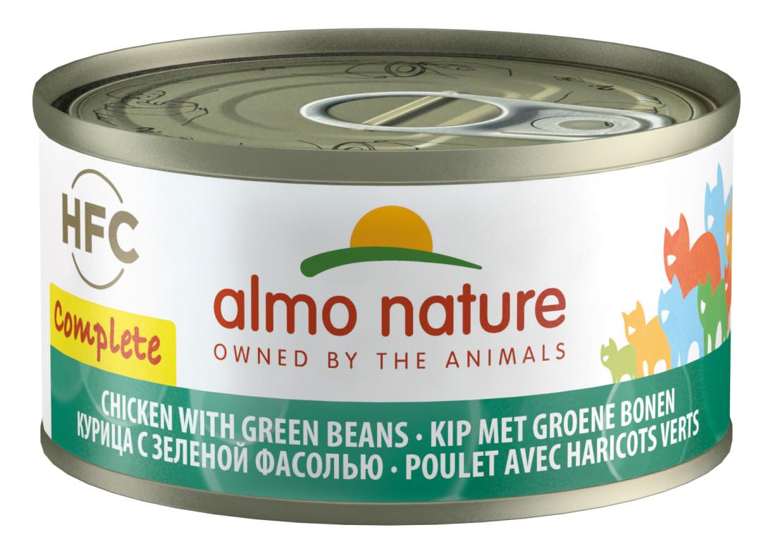 Almo Nature HFC Complete kip en groene bonen 70 gr