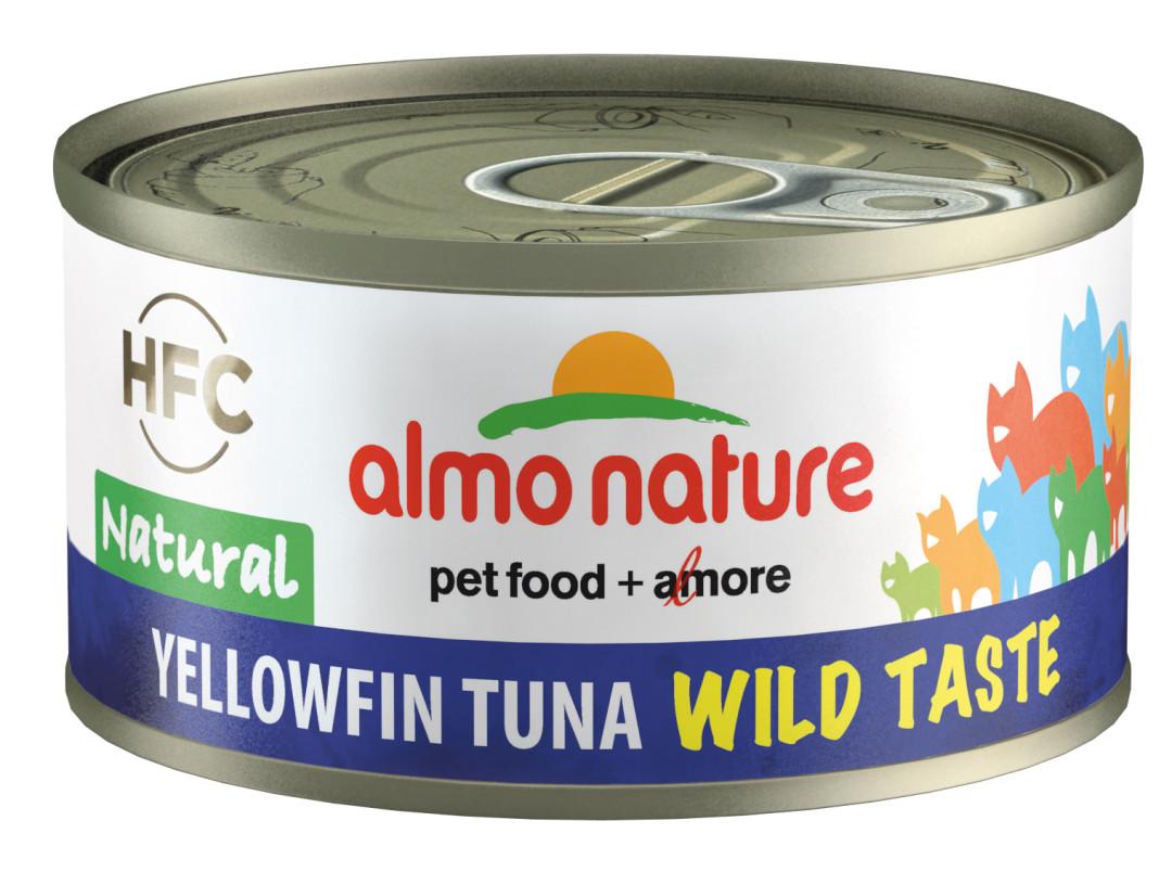 Almo Nature kattenvoer HFC Natural geelvin tonijn 70 gr