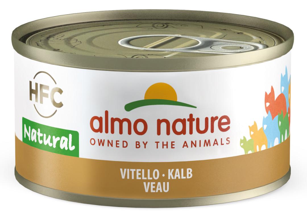 Almo Nature kattenvoer HFC Natural kalf 70 gr