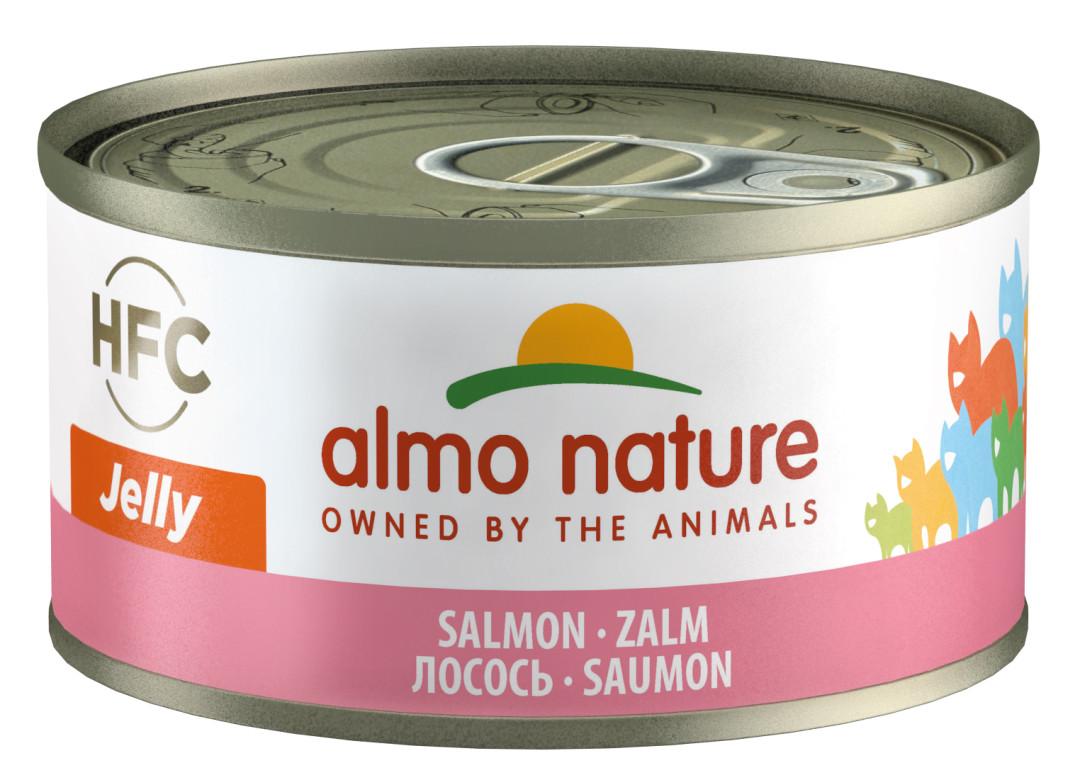 Almo Nature kattenvoer HFC Jelly zalm 70 gr