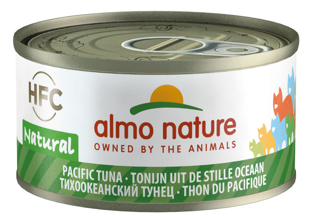 Almo Nature kattenvoer HFC Natural Pacific tonijn 70 gr