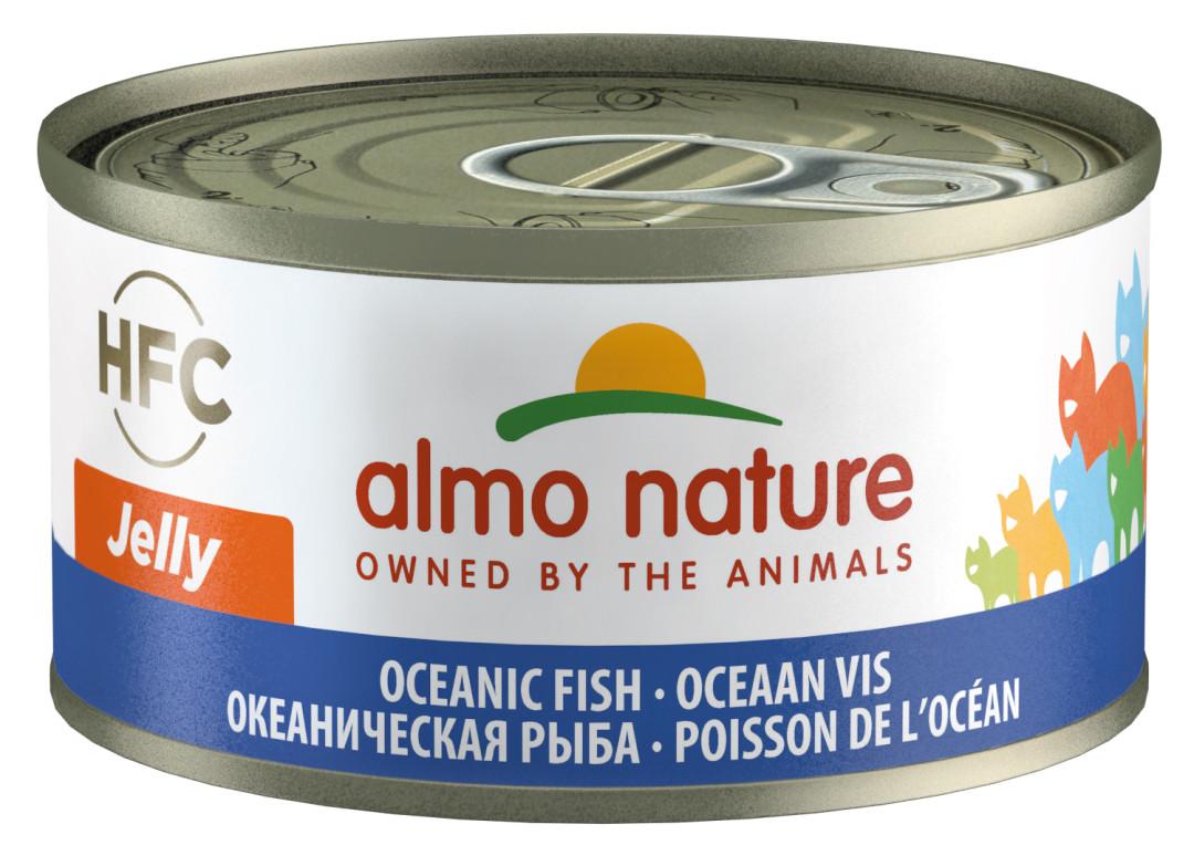 Almo Nature kattenvoer HFC Jelly oceaanvis 70 gr