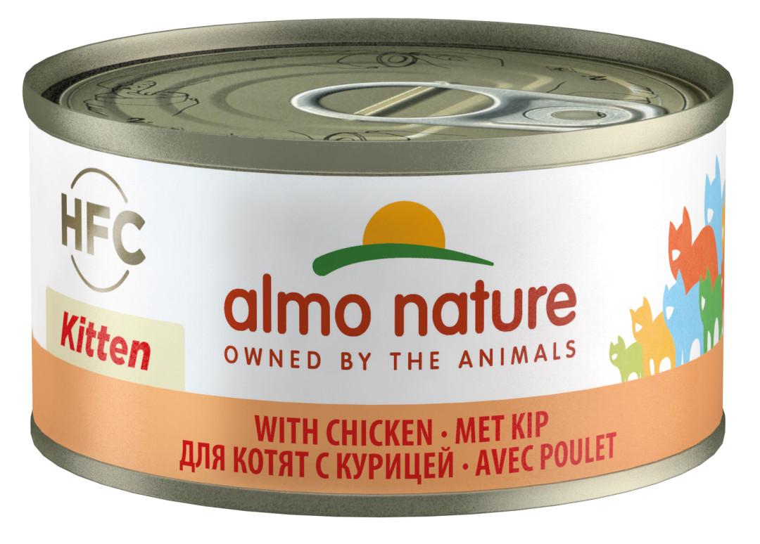 Almo Nature kattenvoer HFC Kitten kip 70 gr