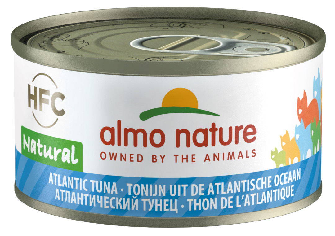 Almo Nature kattenvoer HFC Natural Atlantische tonijn 70 gr