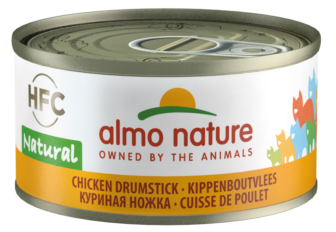 Almo Nature kattenvoer HFC Natural kippenboutvlees 70 gr