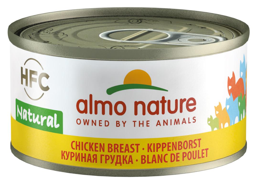Almo Nature kattenvoer HFC Natural kippenborst 70 gr