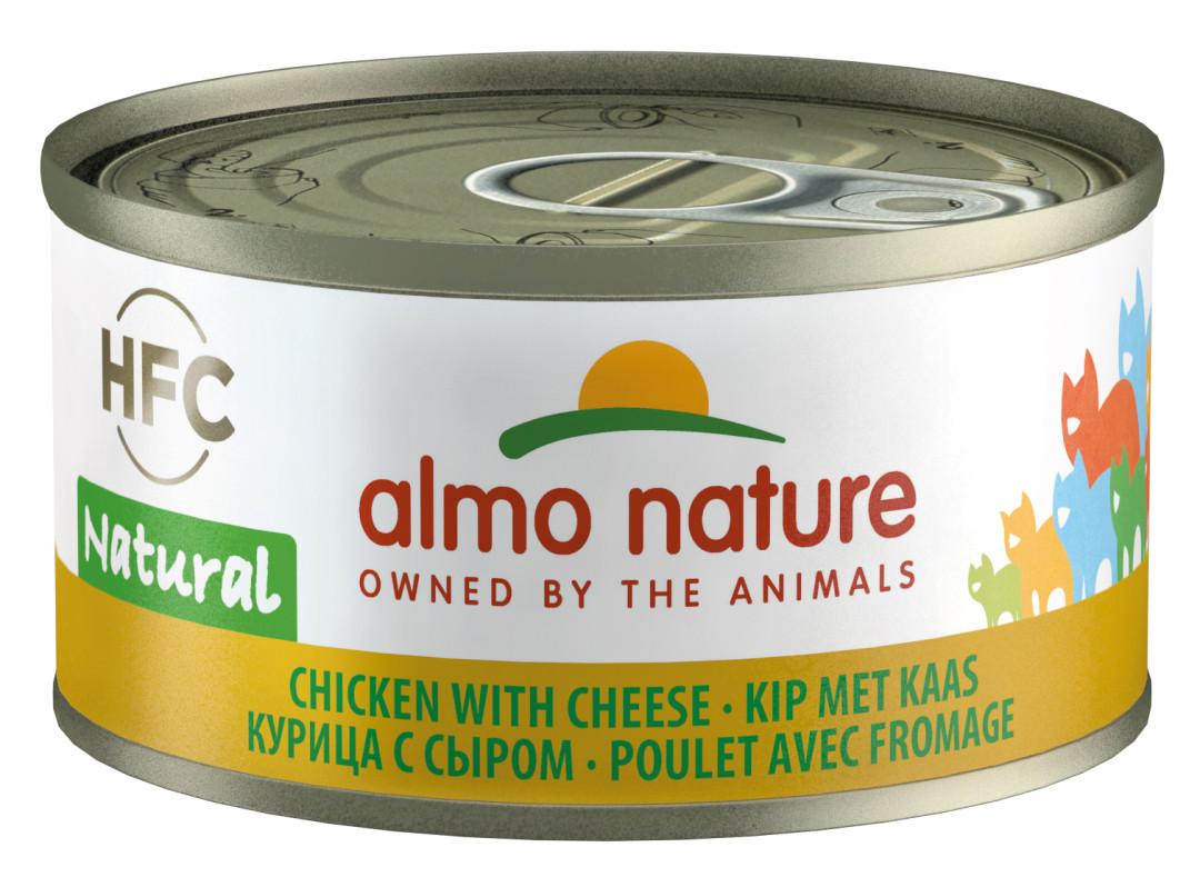 Almo Nature kattenvoer HFC Natural kip en kaas 70 gr