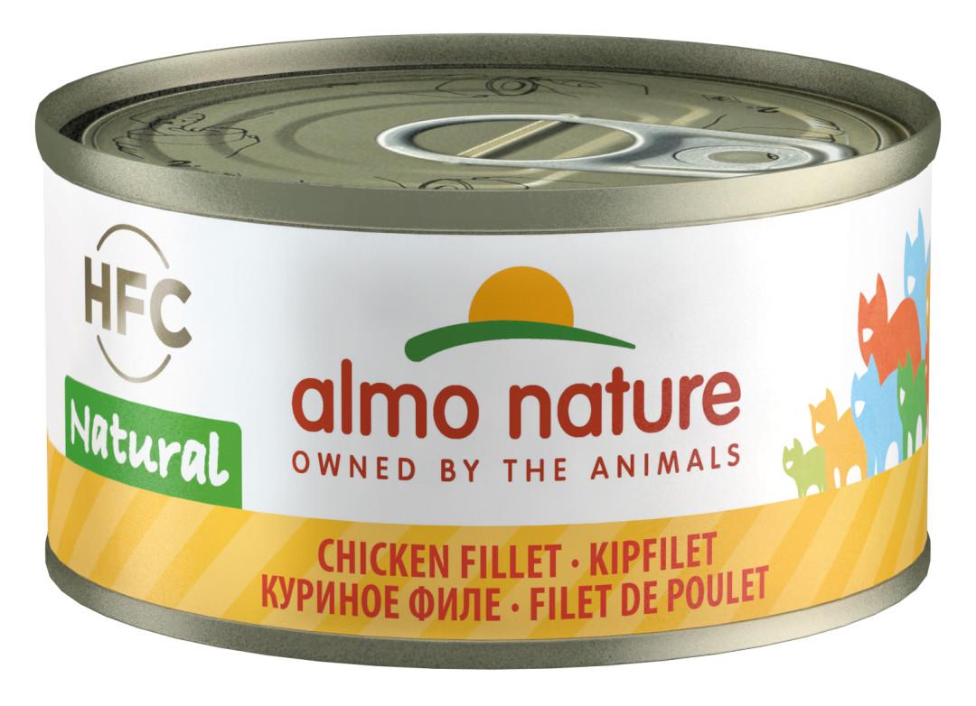 Almo Nature kattenvoer HFC Natural kipfilet 70 gr
