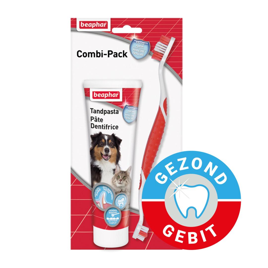 Beaphar tandpasta en tandenborstel