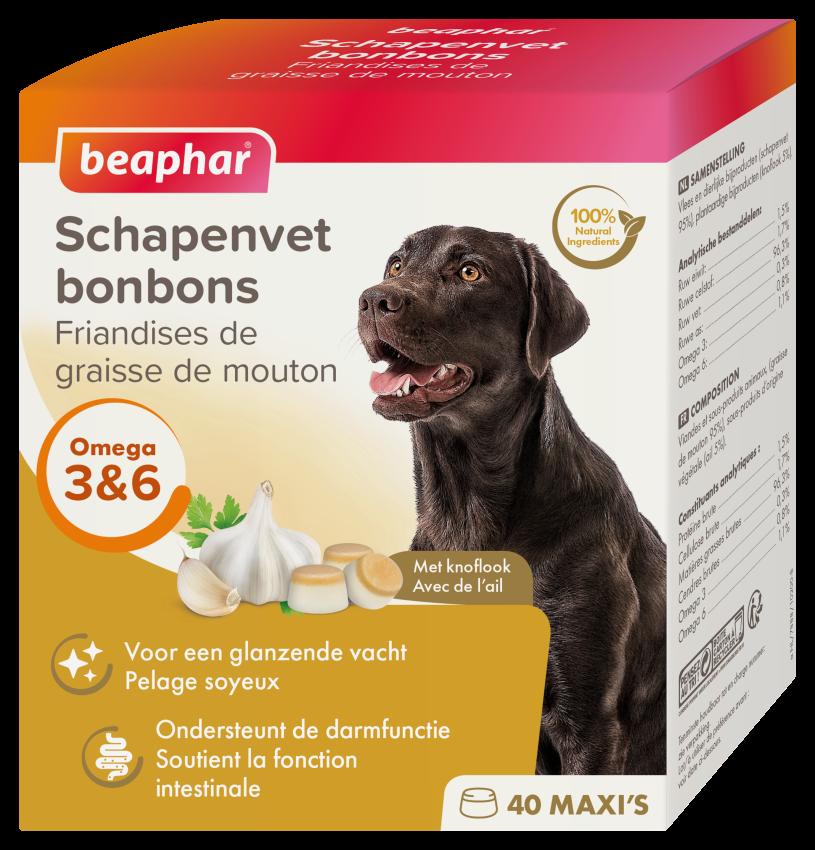 Beaphar Schapenvet Bonbons Knoflook 245g