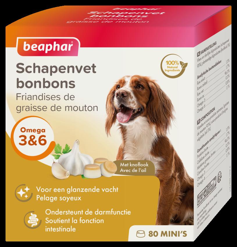Beaphar Schapenvet Bonbons Knoflook Mini 245g