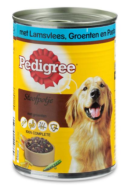 Pedigree hondenvoer Adult stoofpot lam, groente en pasta 400 gr