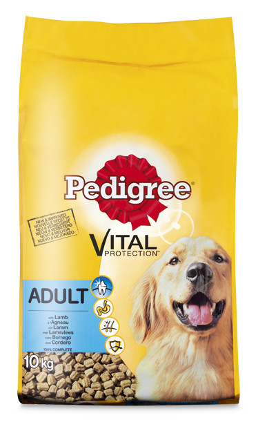 Pedigree hondenvoer Vital Protection Adult lam 10 kg