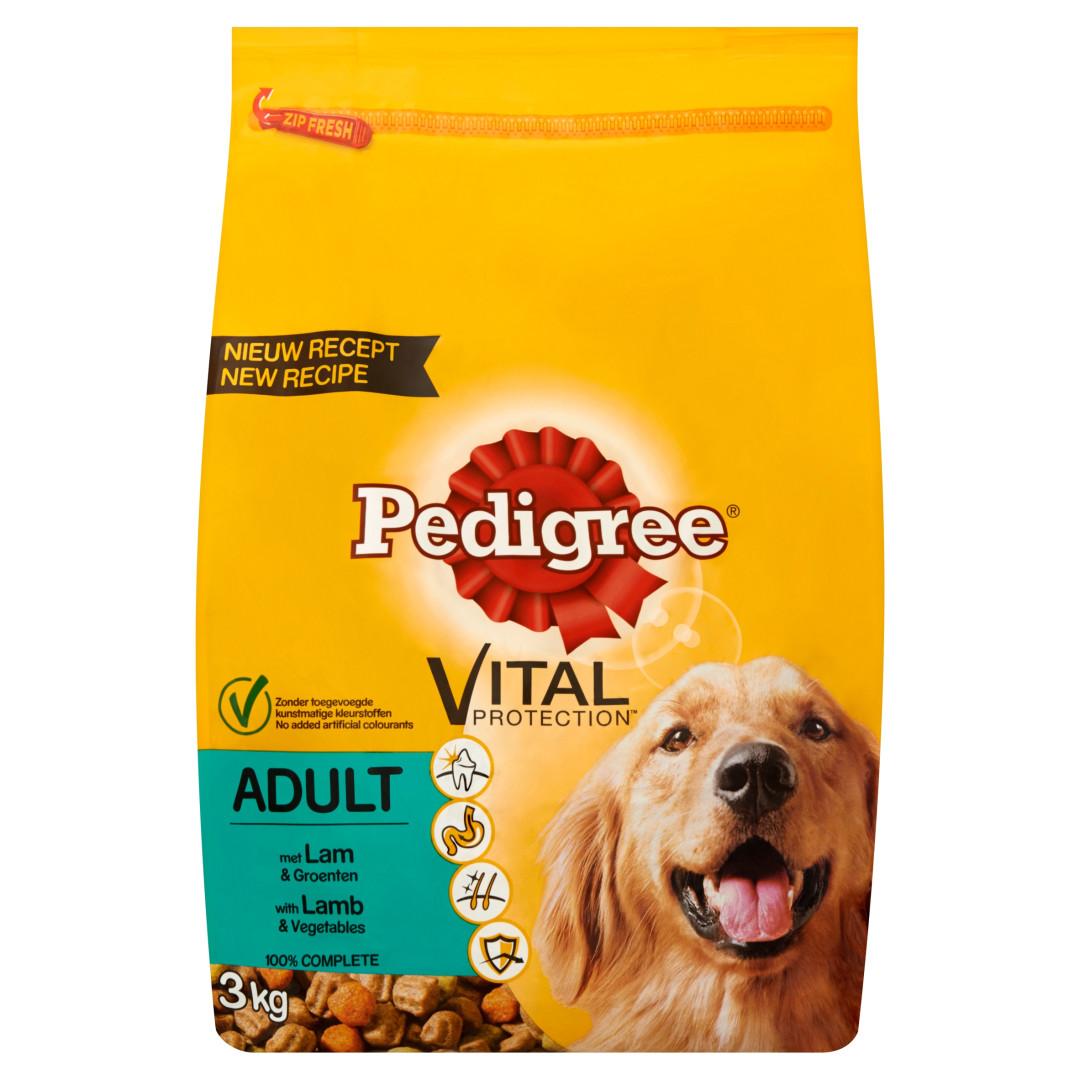 Pedigree hondenvoer Vital Protection Adult lam 3 kg