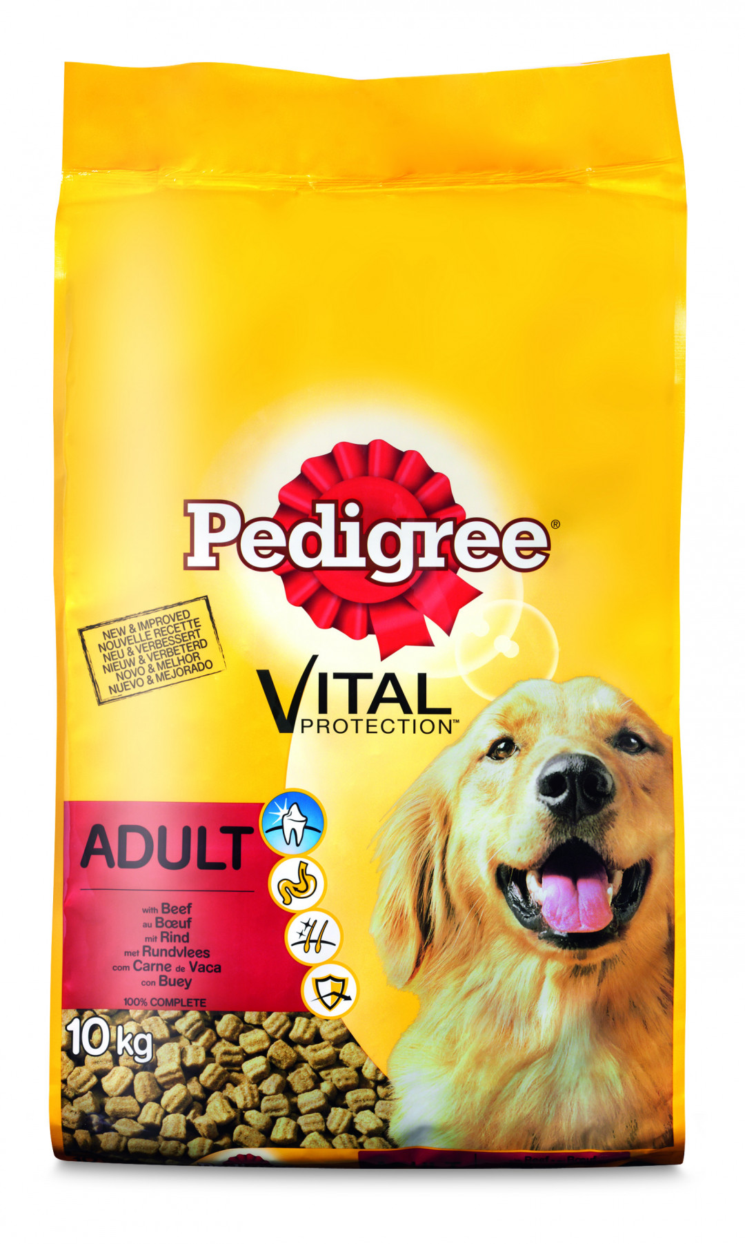 Pedigree hondenvoer Vital Protection Adult rund 10 kg