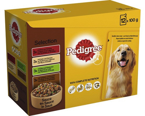 Pedigree hondenvoer Vital Protection in Saus 12 x 100 gr