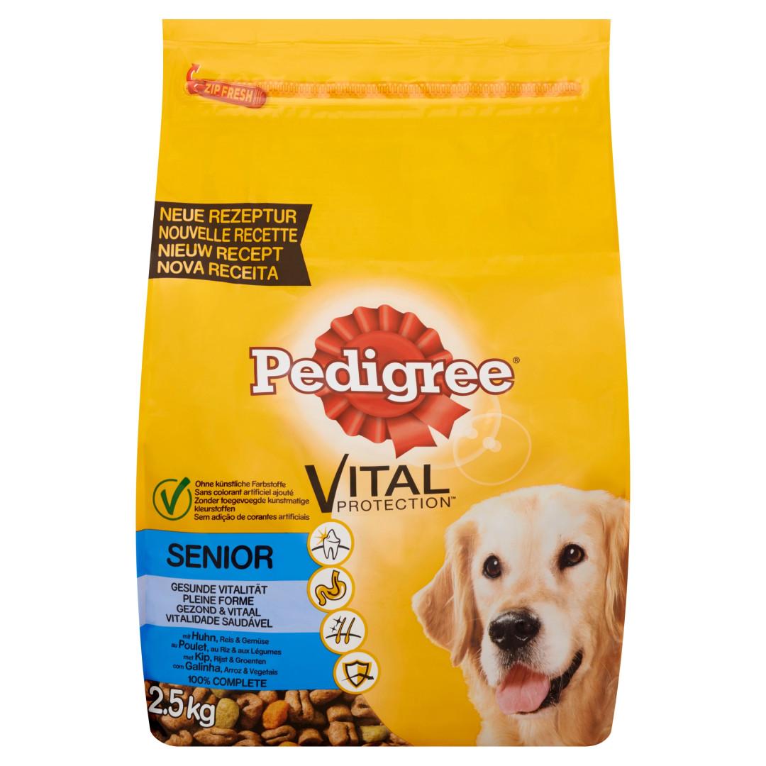 Pedigree hondenvoer Vital Protection Senior kip 2,5 kg