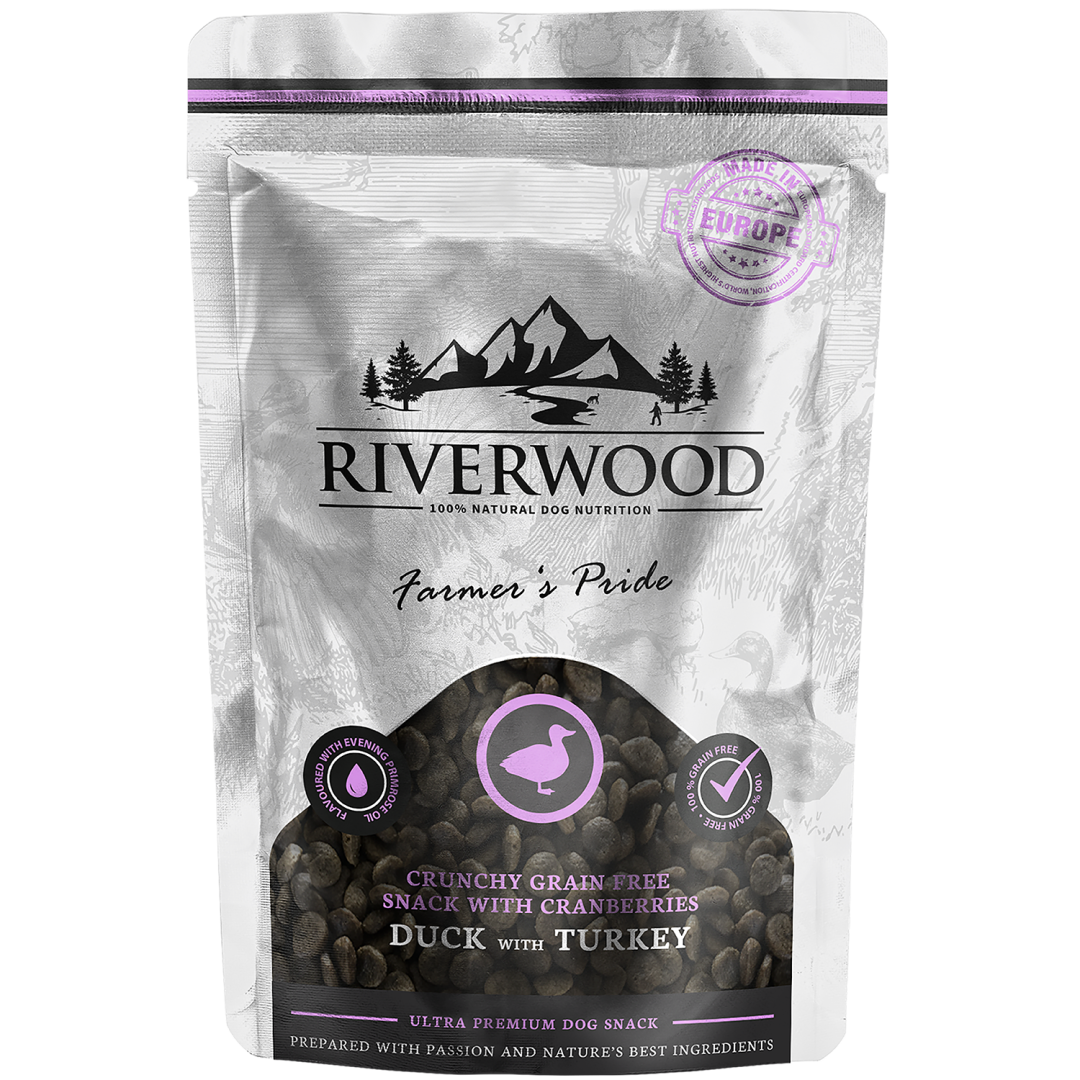 Riverwood Farmers Pride Duck & Turkey crunchy 200 gr