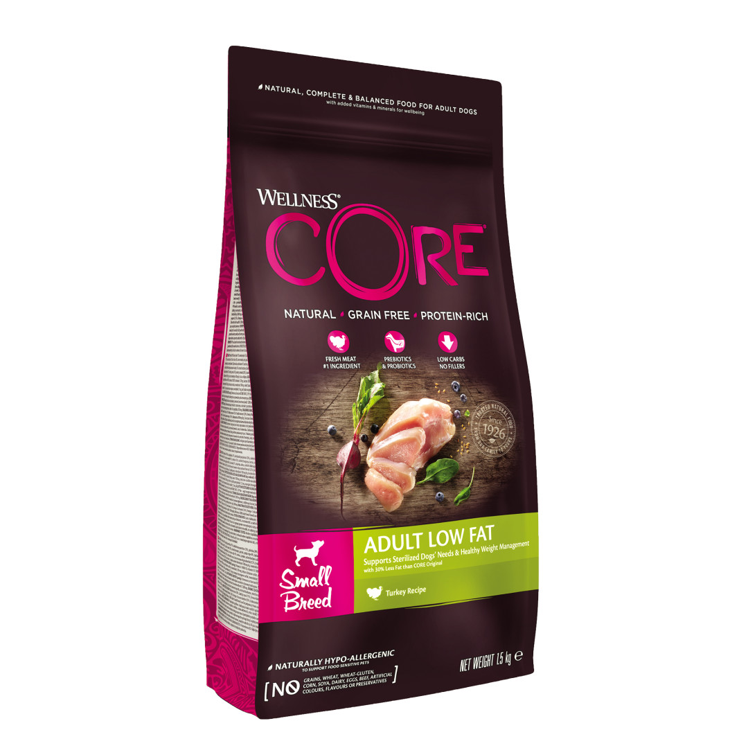 Wellness CORE hondenvoer Small Healthy Weight 1,5 kg
