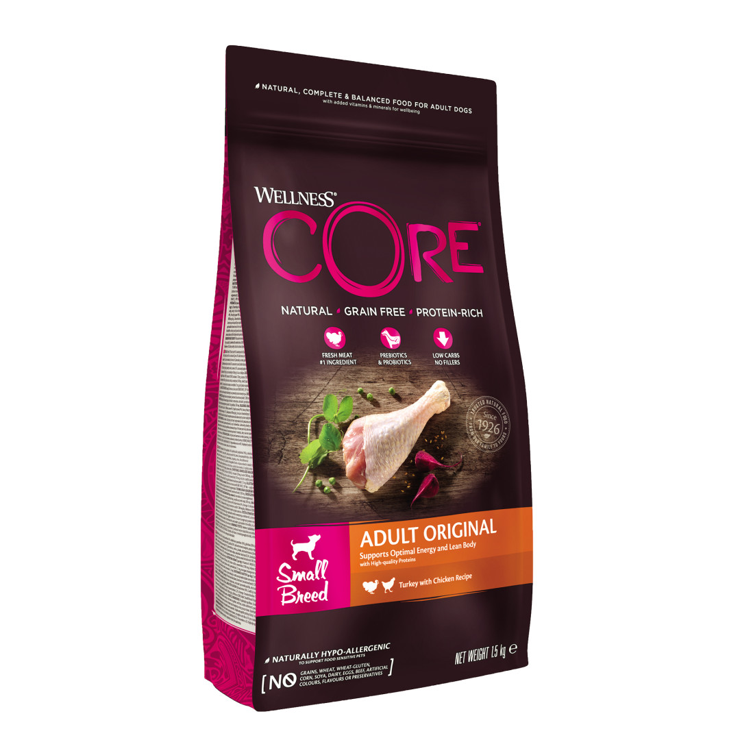 Wellness CORE hondenvoer Small Original 1,5 kg