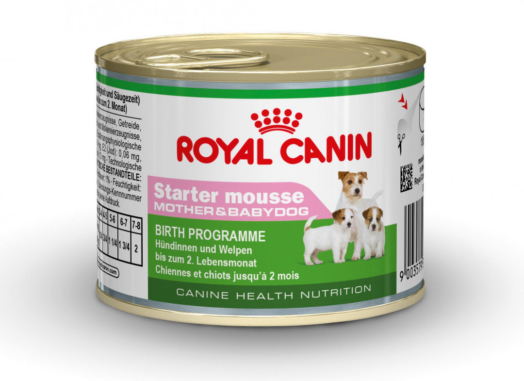Royal Canin hondenvoer Starter Mousse 195 gr