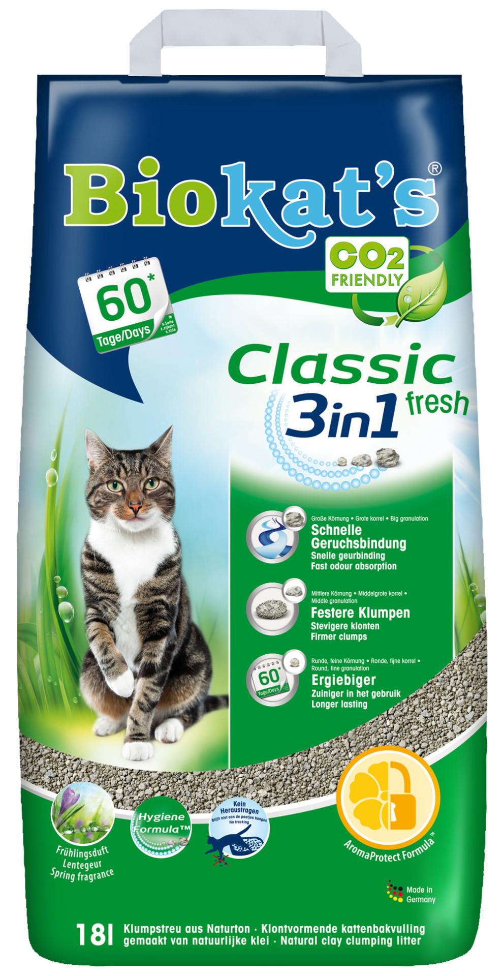 Biokat's kattenbakvulling Classic Fresh 18 ltr