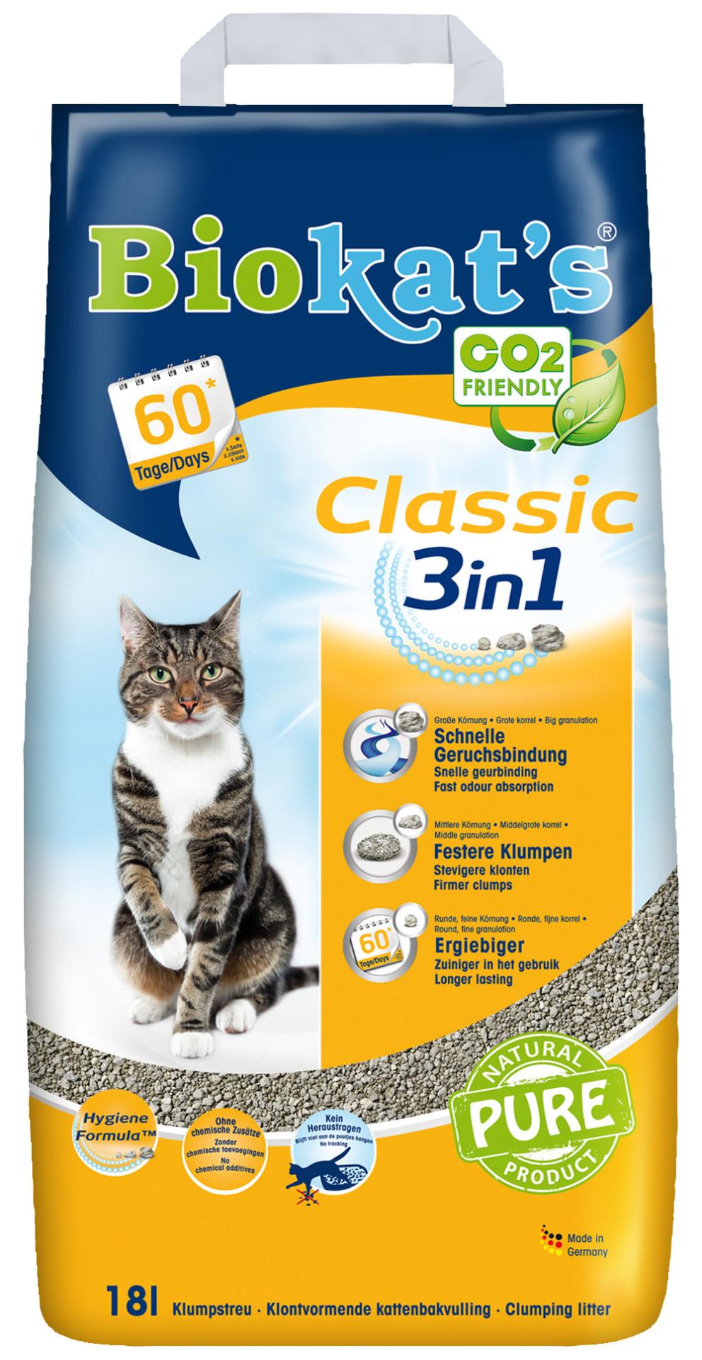 Biokat's kattenbakvulling Classic 18 ltr