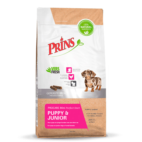 Prins hondenvoer ProCare Mini Puppy Perfect Start 7,5 kg