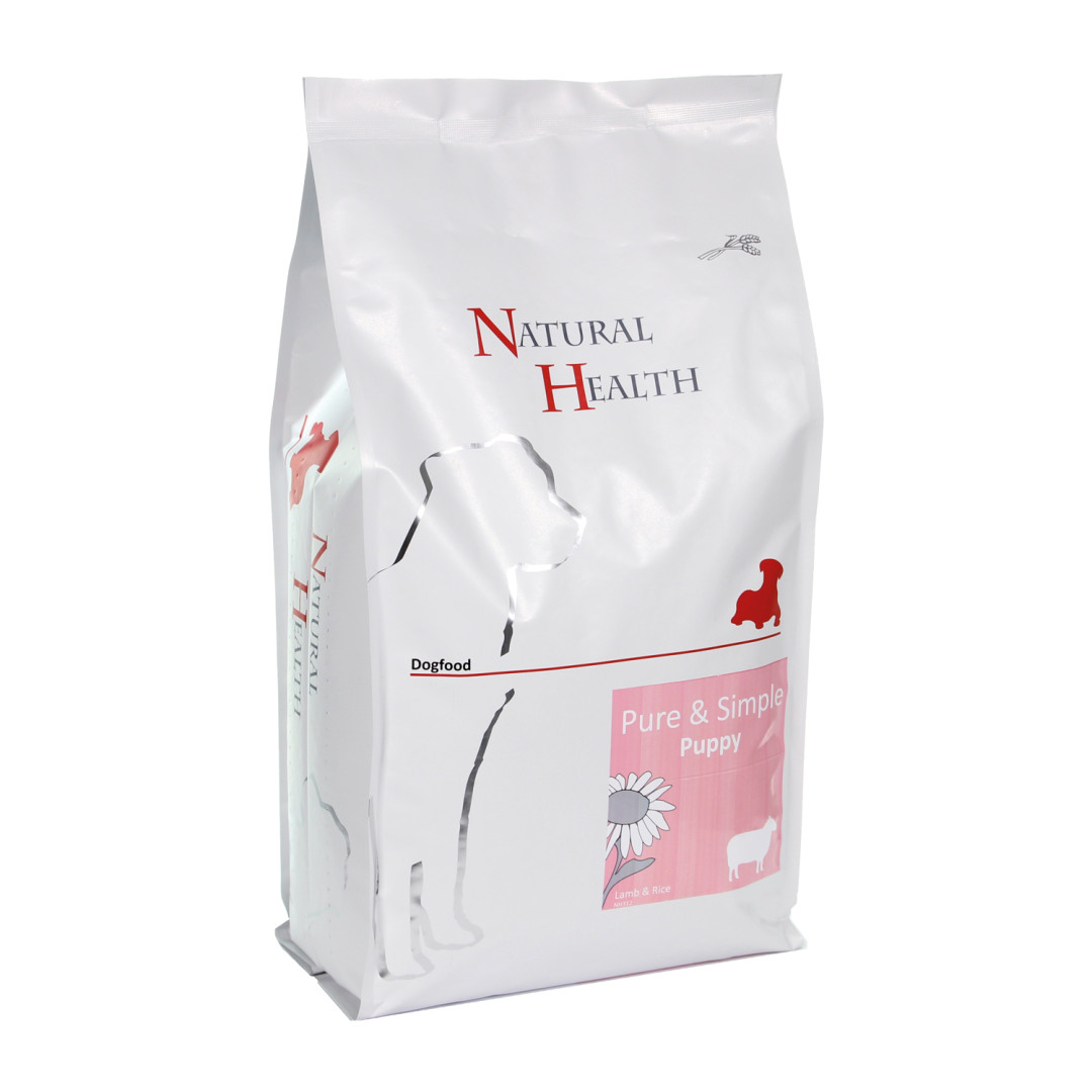 Natural Health Pure & Simple Puppy lamb <br>2,5 kg