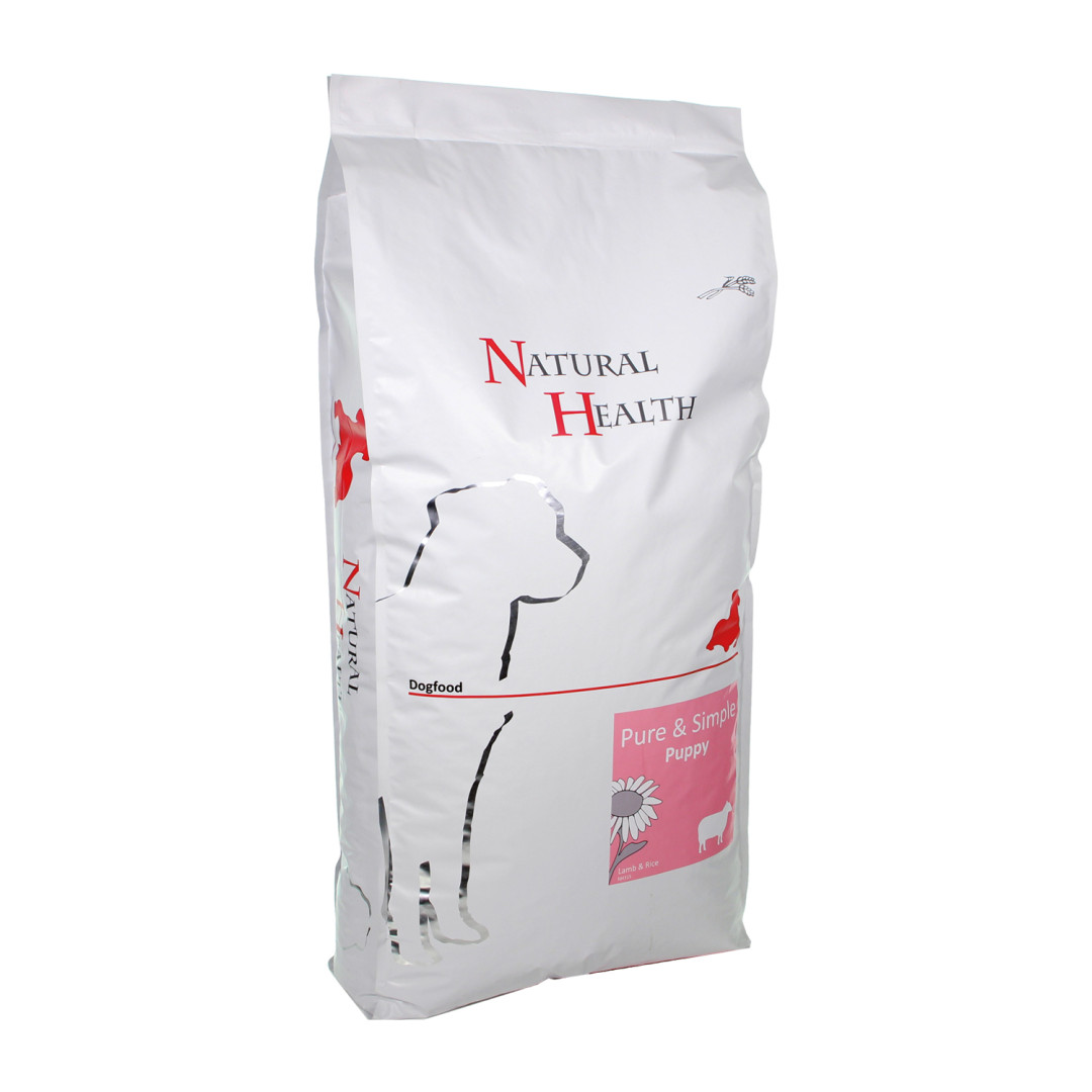 Natural Health Pure & Simple Puppy lamb <br>12,5 kg