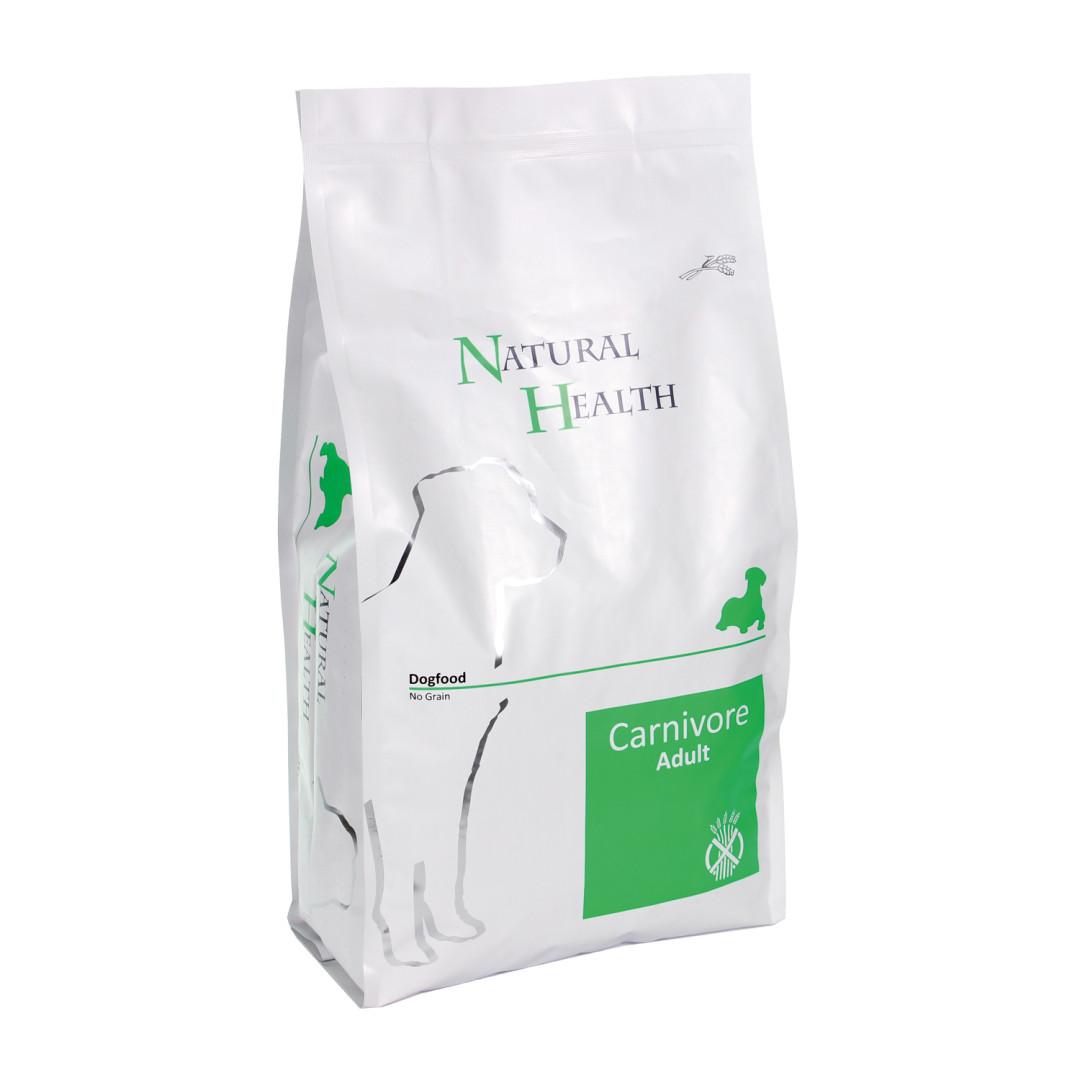 Natural Health hondenvoer Carnivore <br>3 kg