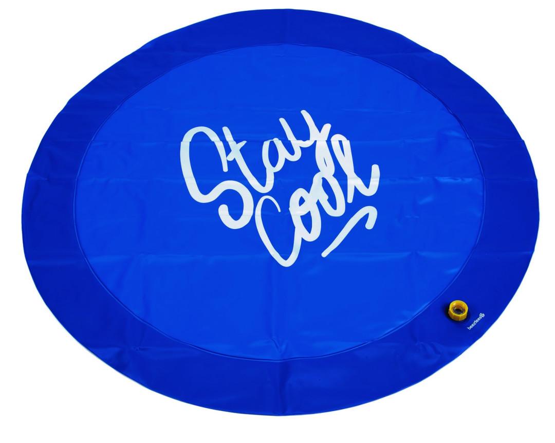 Beeztees sprinkler mat Stay Cool blauw<br> 100