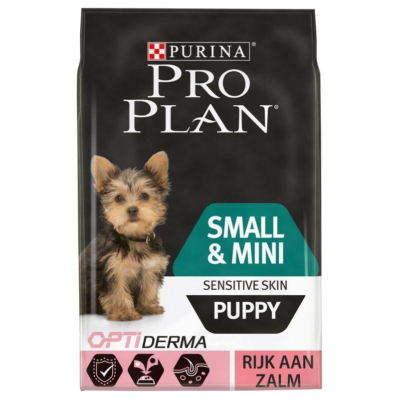 Pro Plan hondenvoer Small & Mini Puppy Sensitive Skin 3 kg