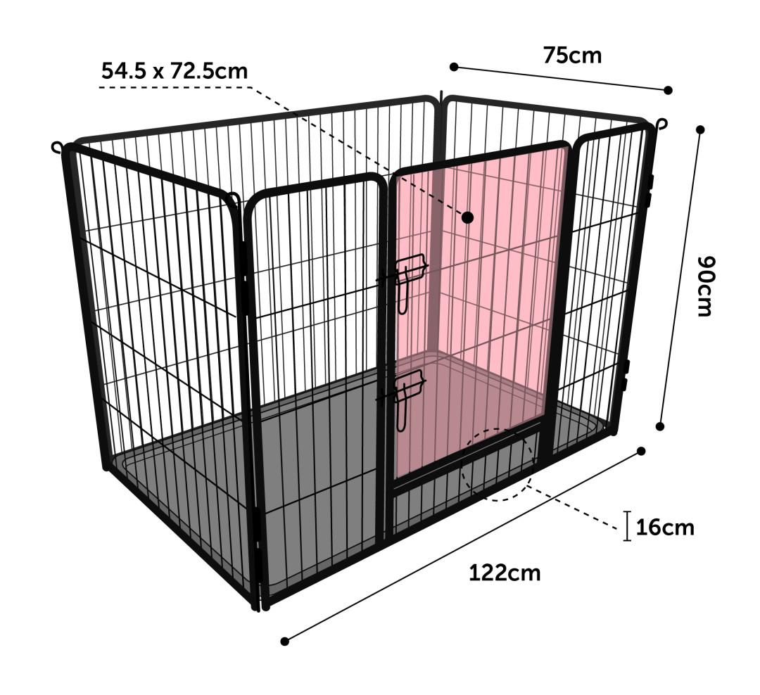 Flamingo kennel Kazan black