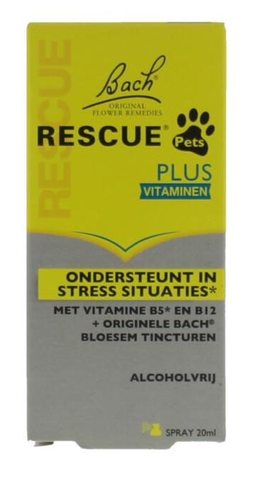 Bach Rescue Pets Plus spray 20 ml